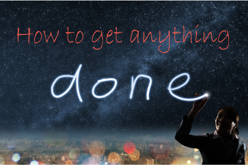 How to get anything done - image