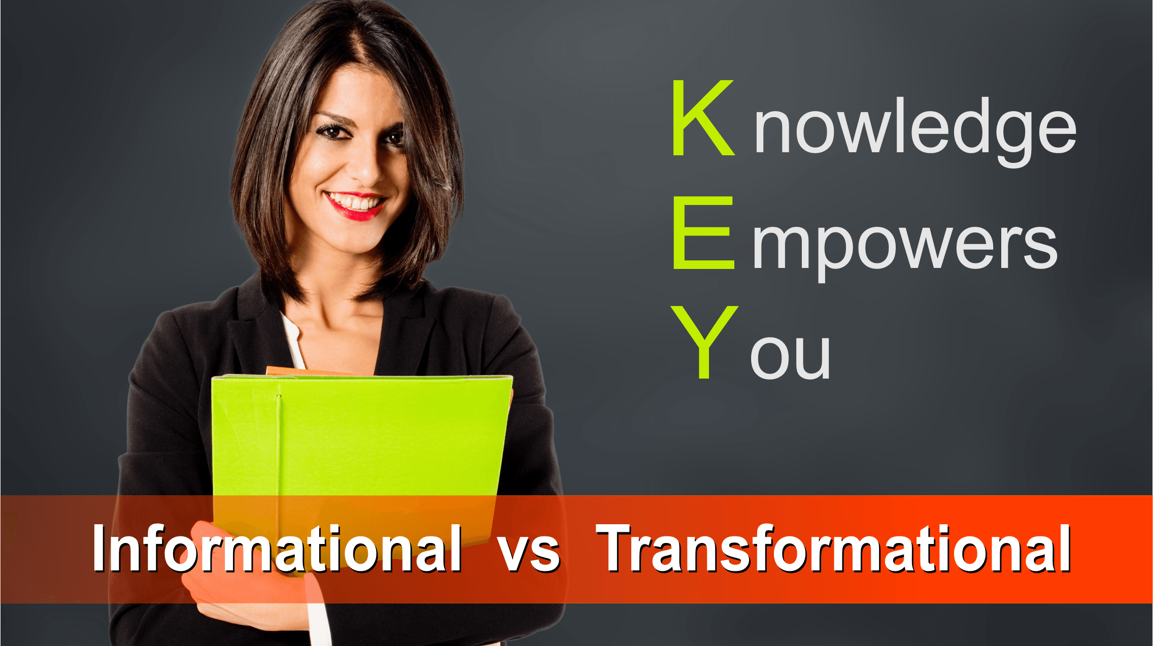 Informational vs Transformational Coach training