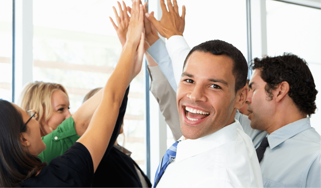 high five for increased success pccca