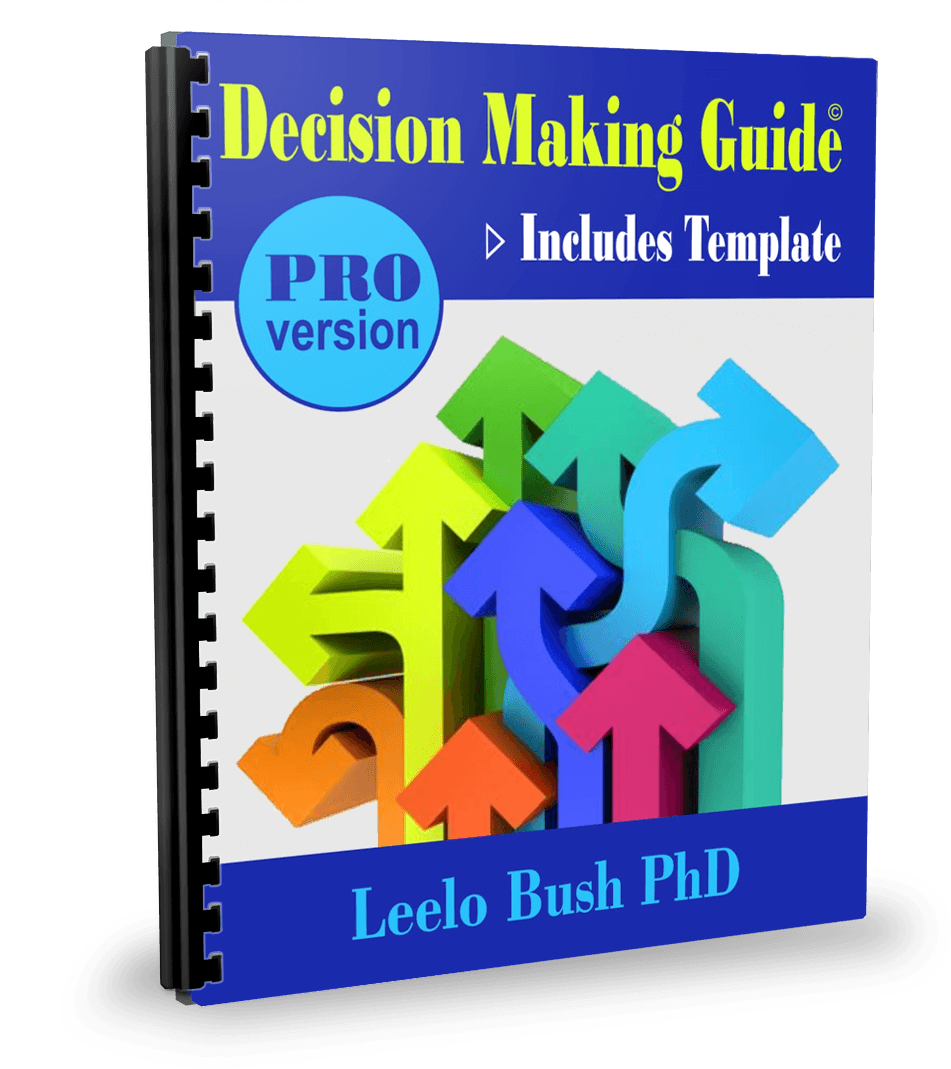 Decision Making Guide Cover PRO Version by Leelo Bush at http://pccca.org/bookstore/