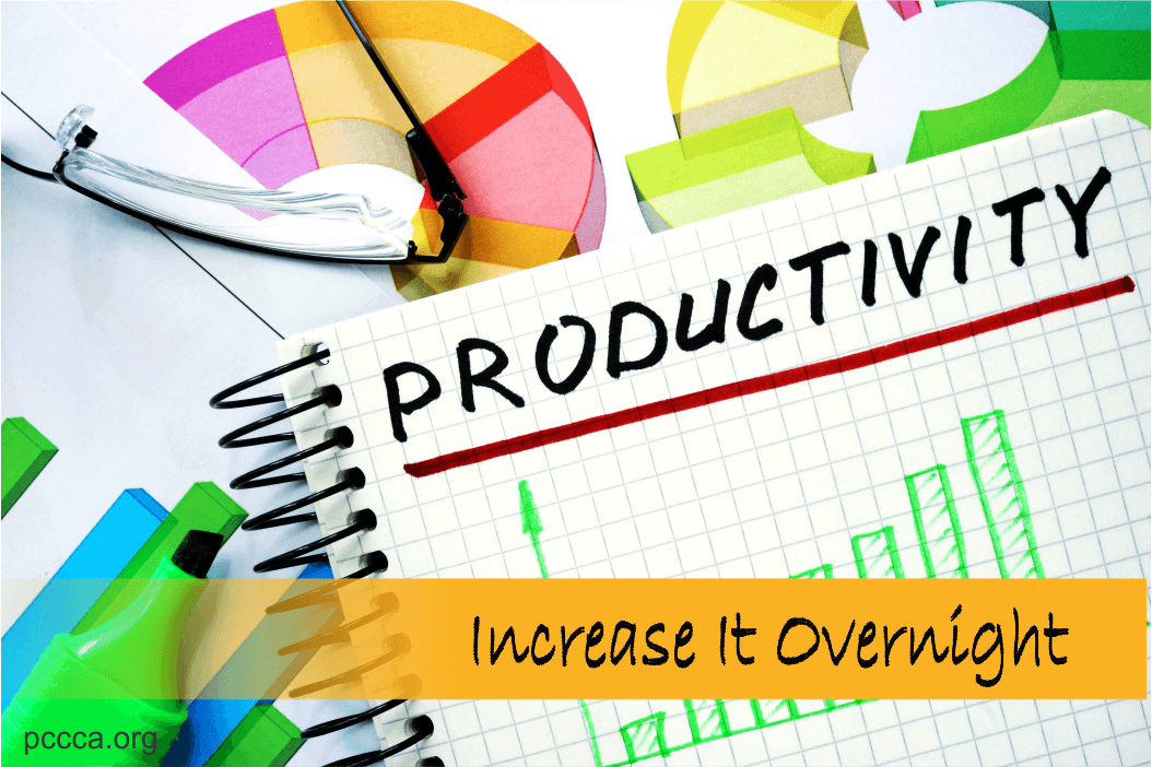 How To Increase Your Productivity Overnight https://pccca.org