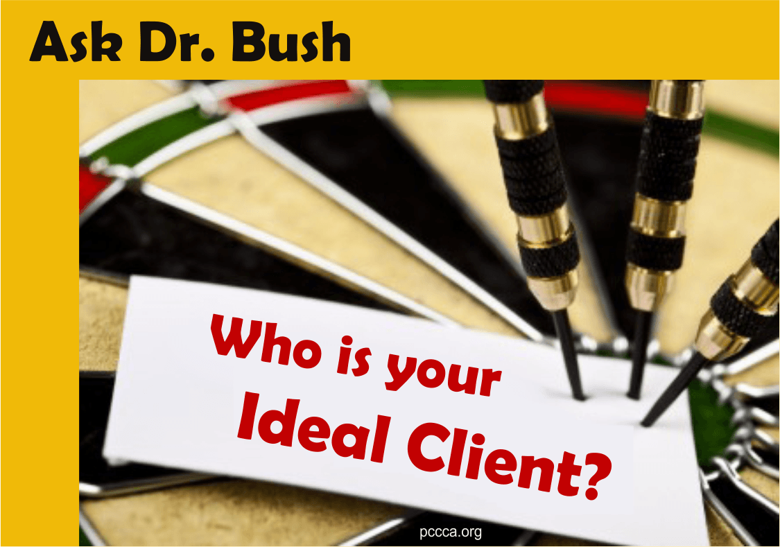 Who is your ideal client? https://pccca.org
