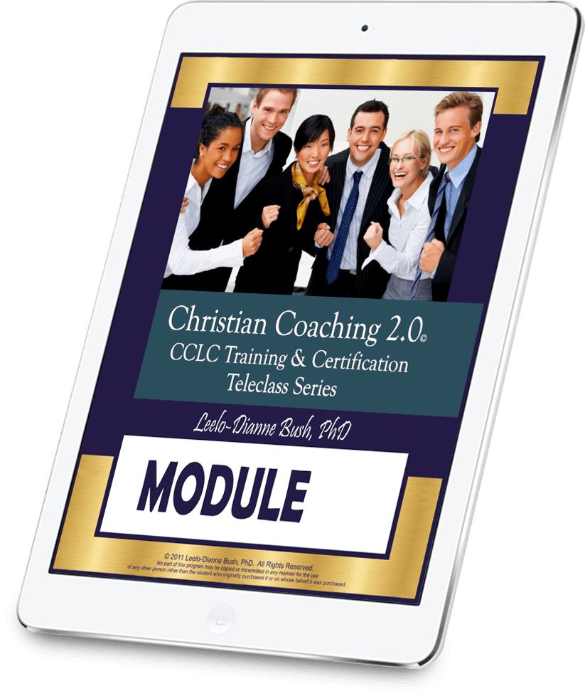 Study your Christian Life Coach Module on iPad or tablet
