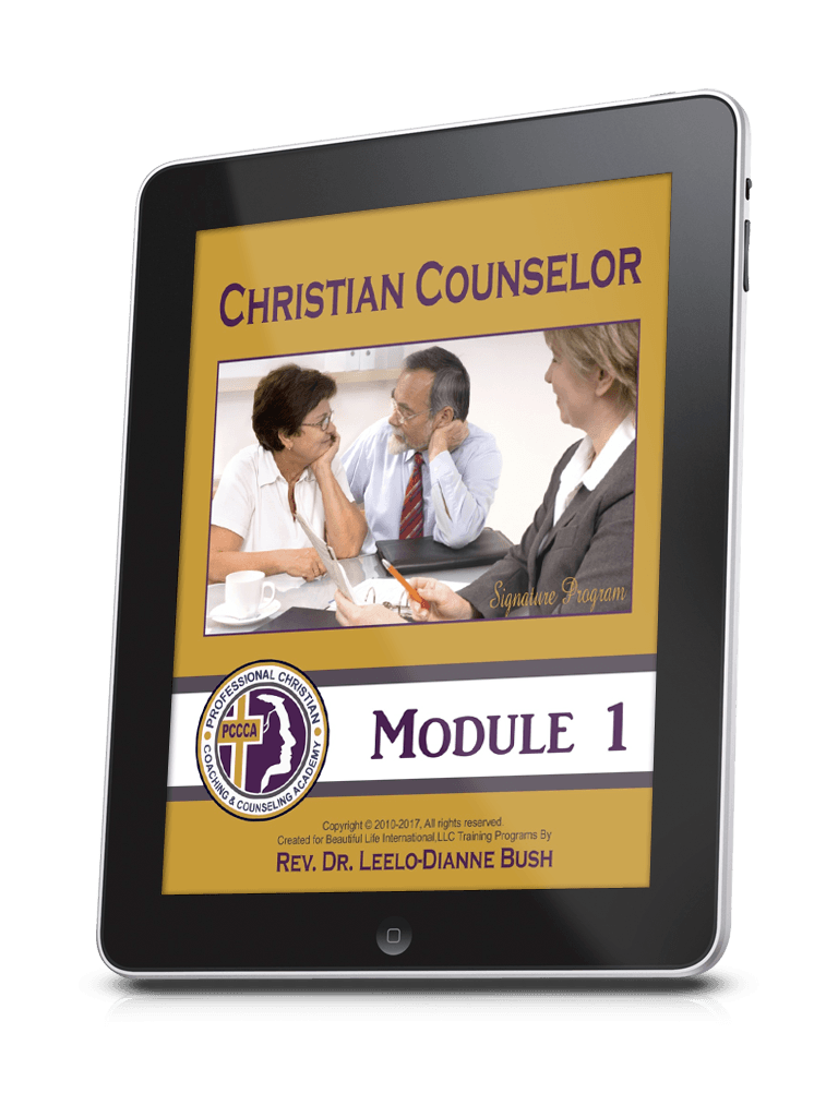 Study Christian Counseling on your iPad or tablet!