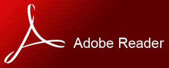 Download Adobe Reader by clicking on this image.