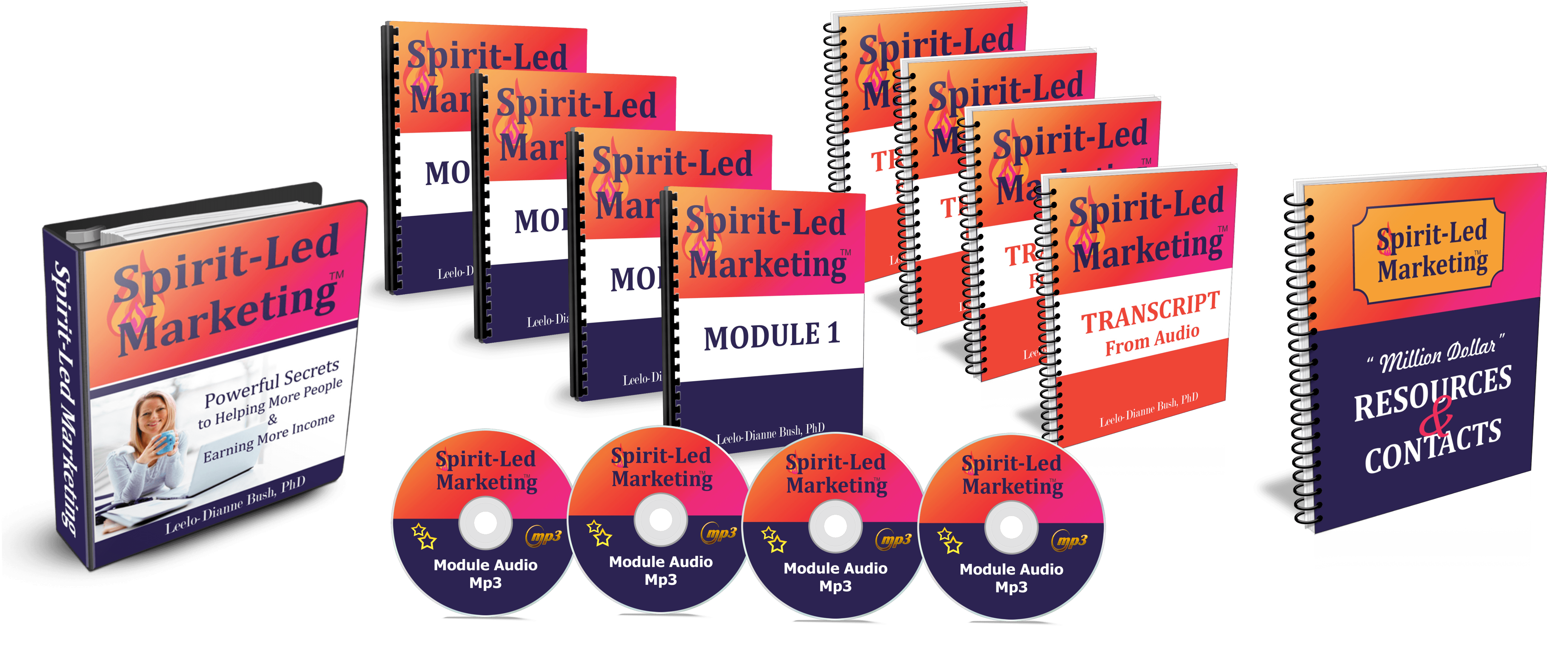 Spirit Led Marketing course by Leelo Bush PhD