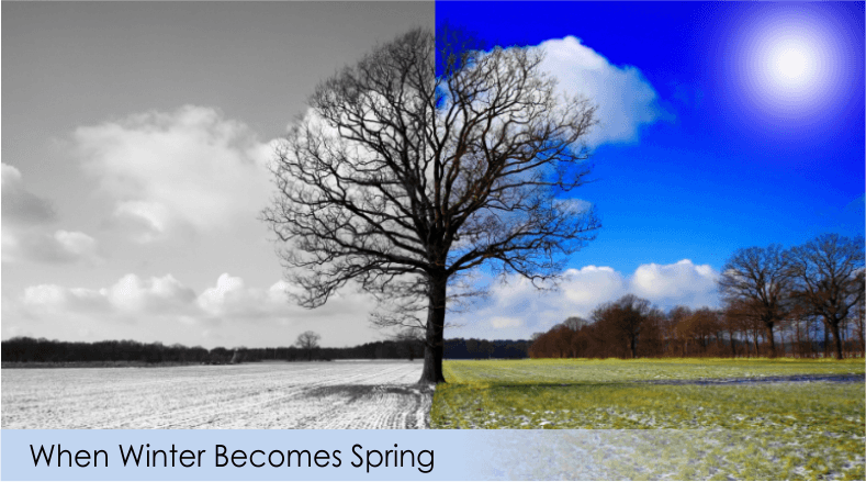 Restore emotional balance in spring