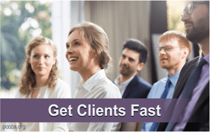 Get Coaching Clients Fast https://pccca.org