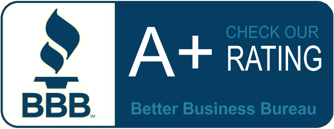 Click to see our A+ Rating at Better Business Bureau!