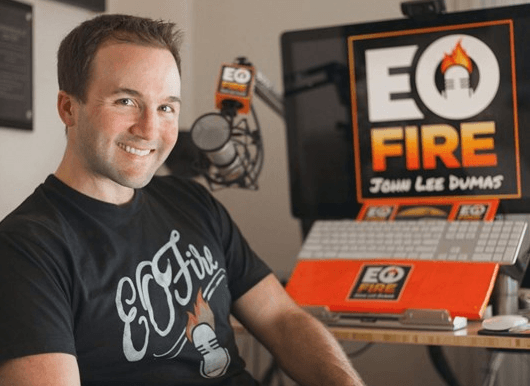 John Lee Dumas Entrepreneur On File Podcast