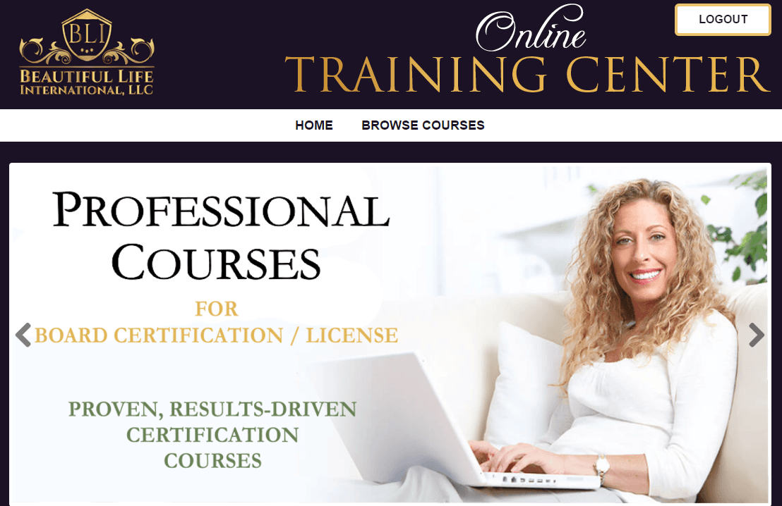 Our Exclusive Online Training Center