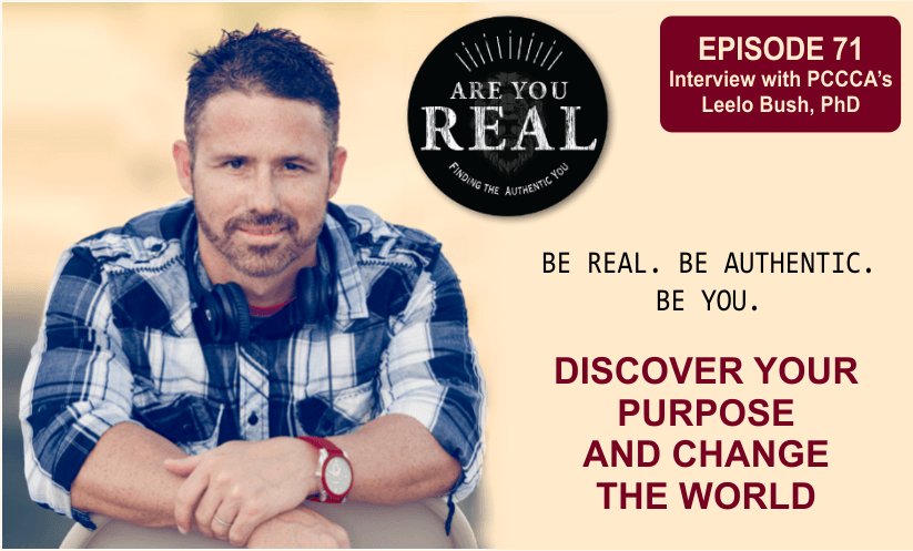 Are You Real Podcast 71 with Leelo Bush PhD