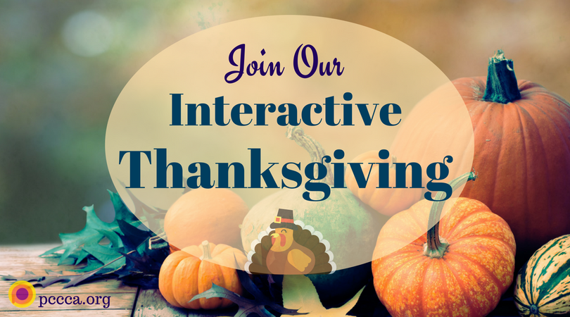 Join Our Interactive Thanksgiving