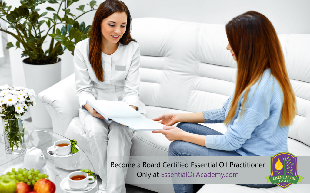 Become a Board Certified Essential Oil Practitioner only at http://essentialoilacademy.com