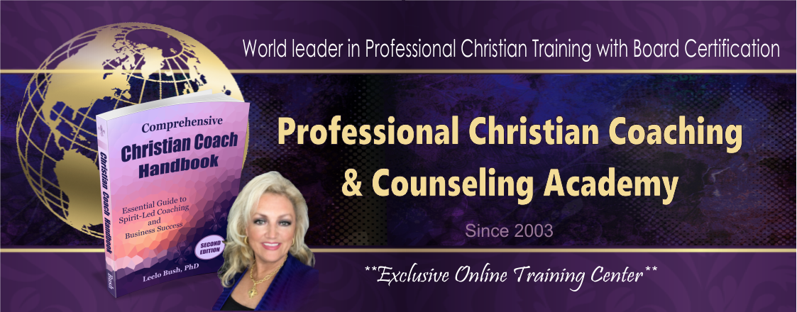 Christian Life Coach Training & Certification Header at PCCCA.org