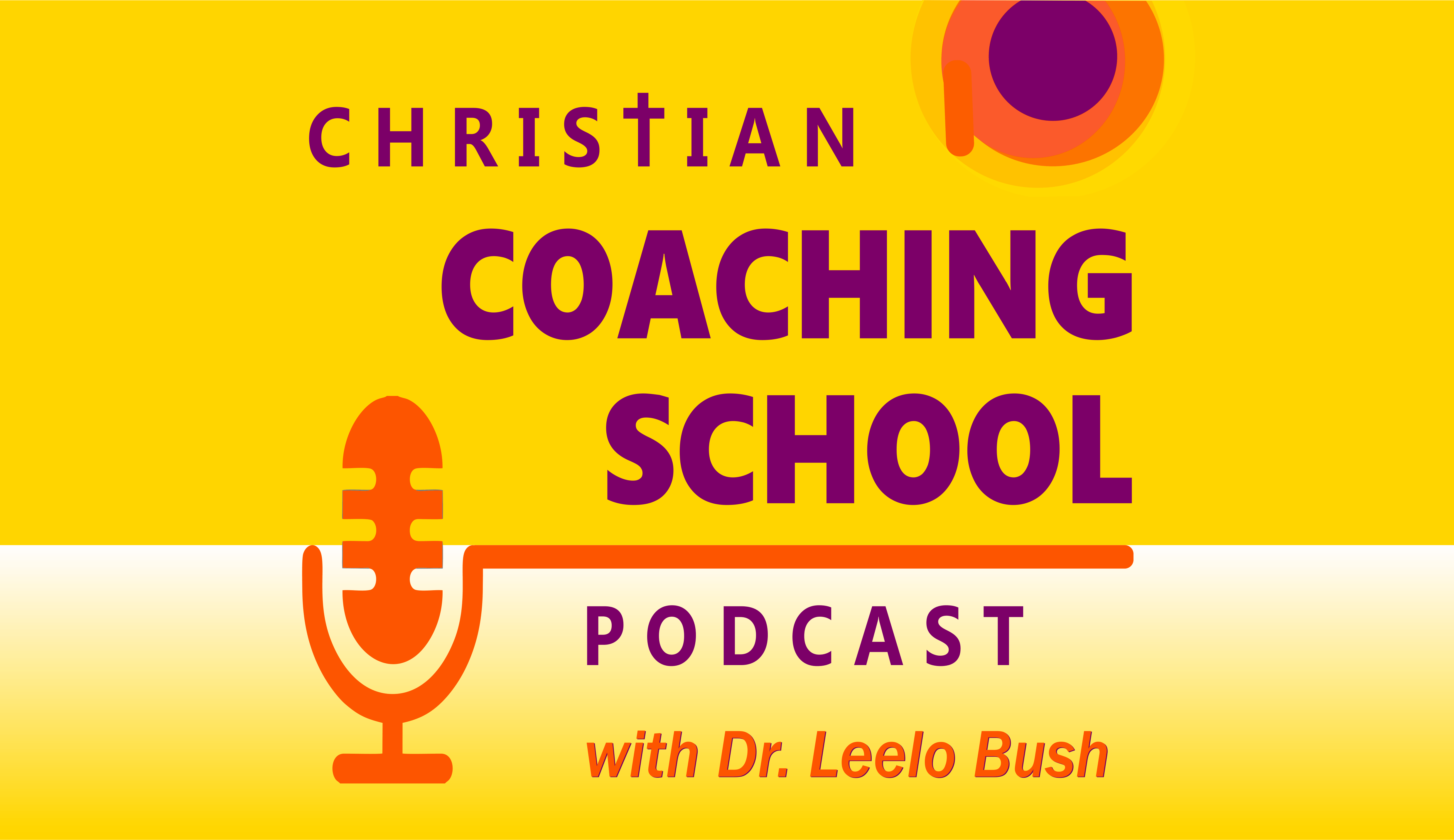 Christian Coaching School Podcast - new art Oct 2018